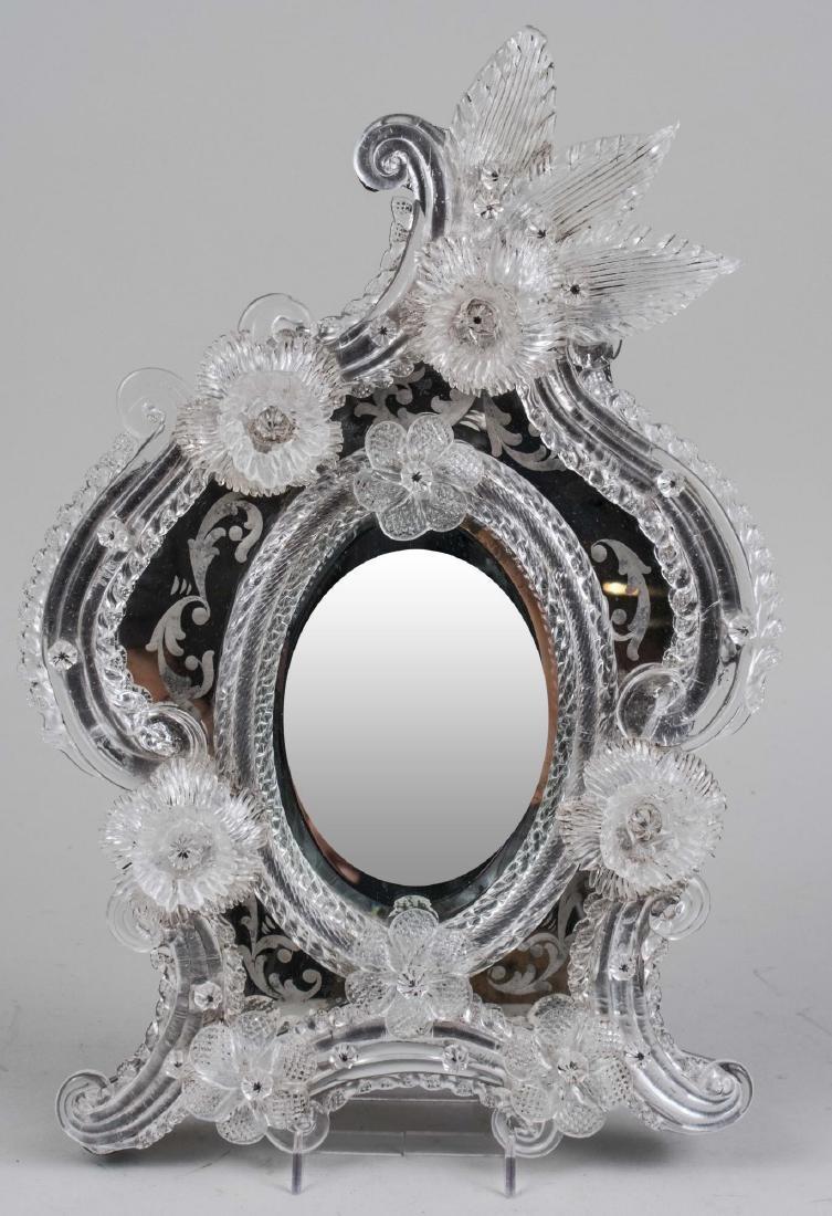 Three Venetian Glass Mirrors - 3