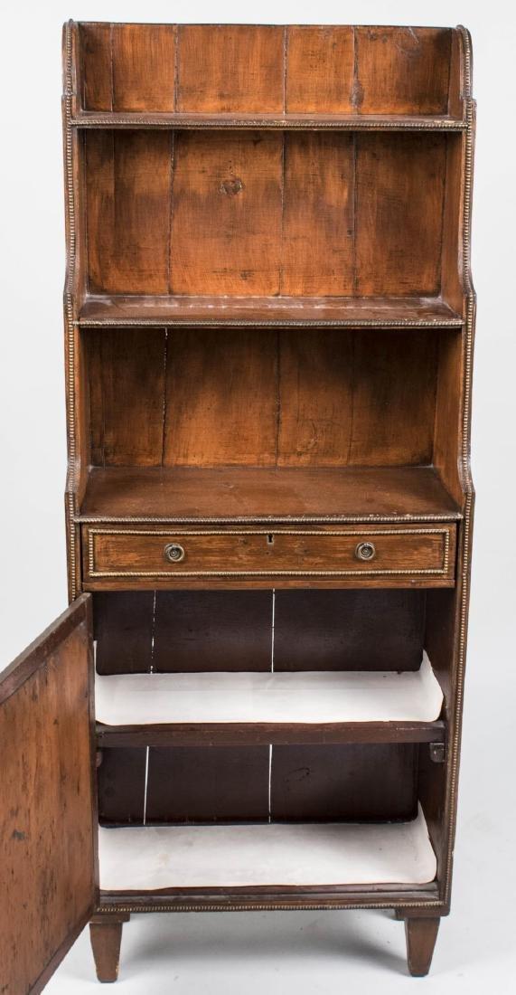 Mahogany Bookcase Cabinet - 2
