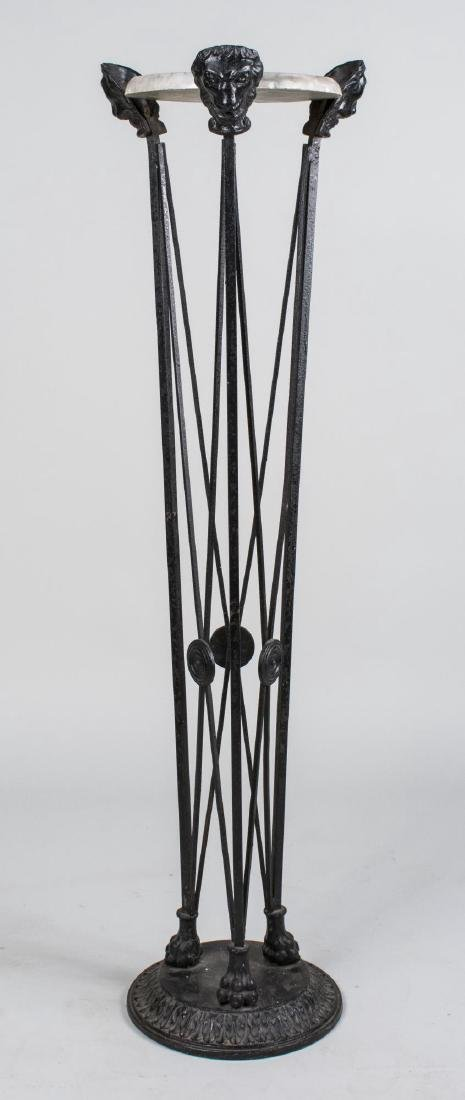 Neoclassical Style Iron Stand