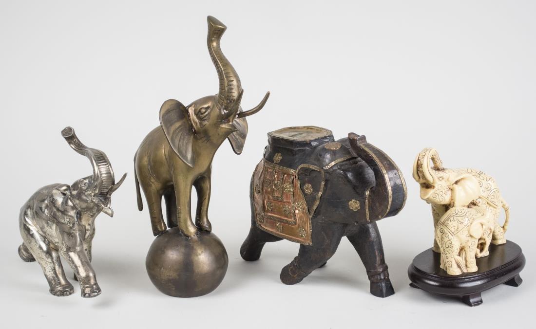 Group of Elephant Figures