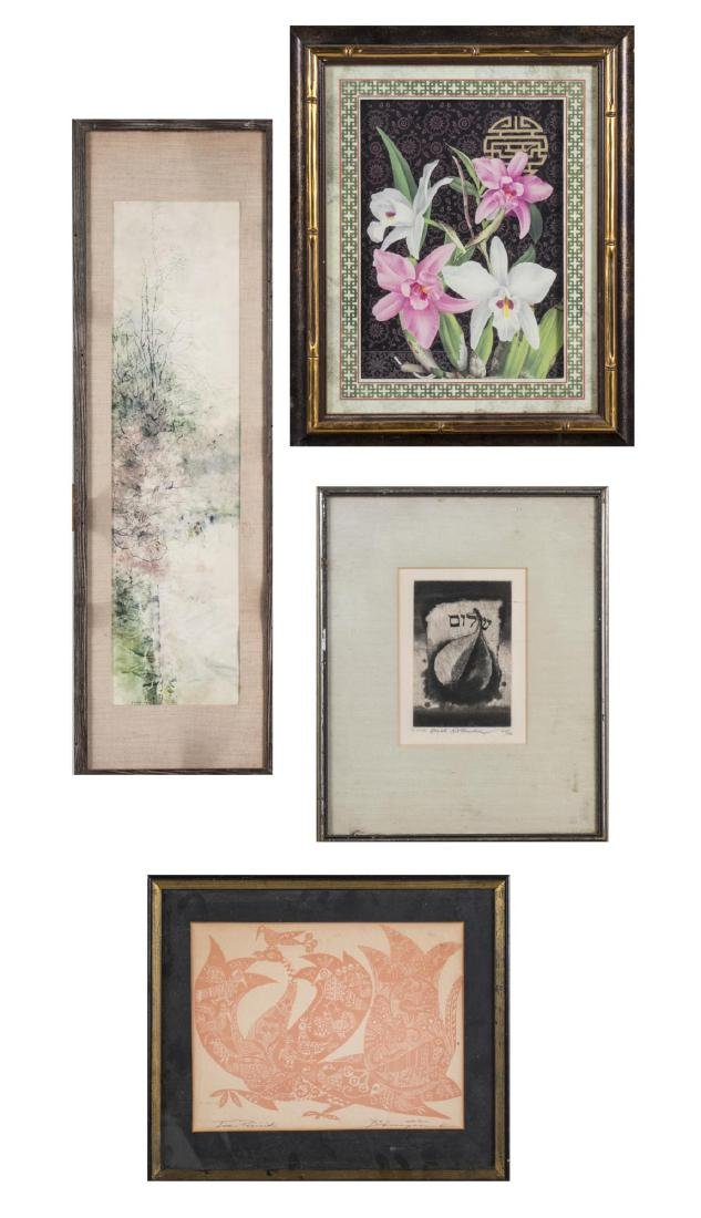 Group of Decorative Pictures, Tiles and Plaques - 4