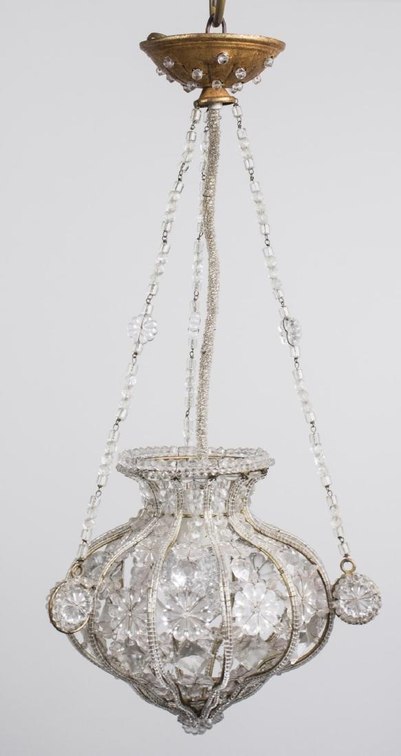 Glass Hanging Light