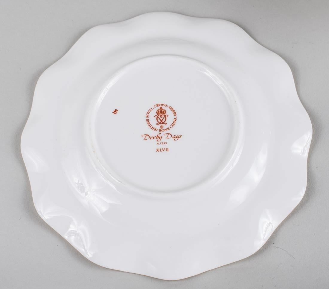 Royal Crown Derby Porcelain Dinner Service - 3