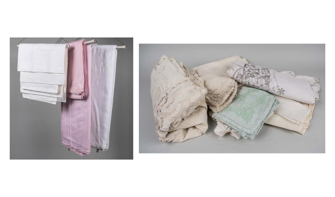Group of Table Linens