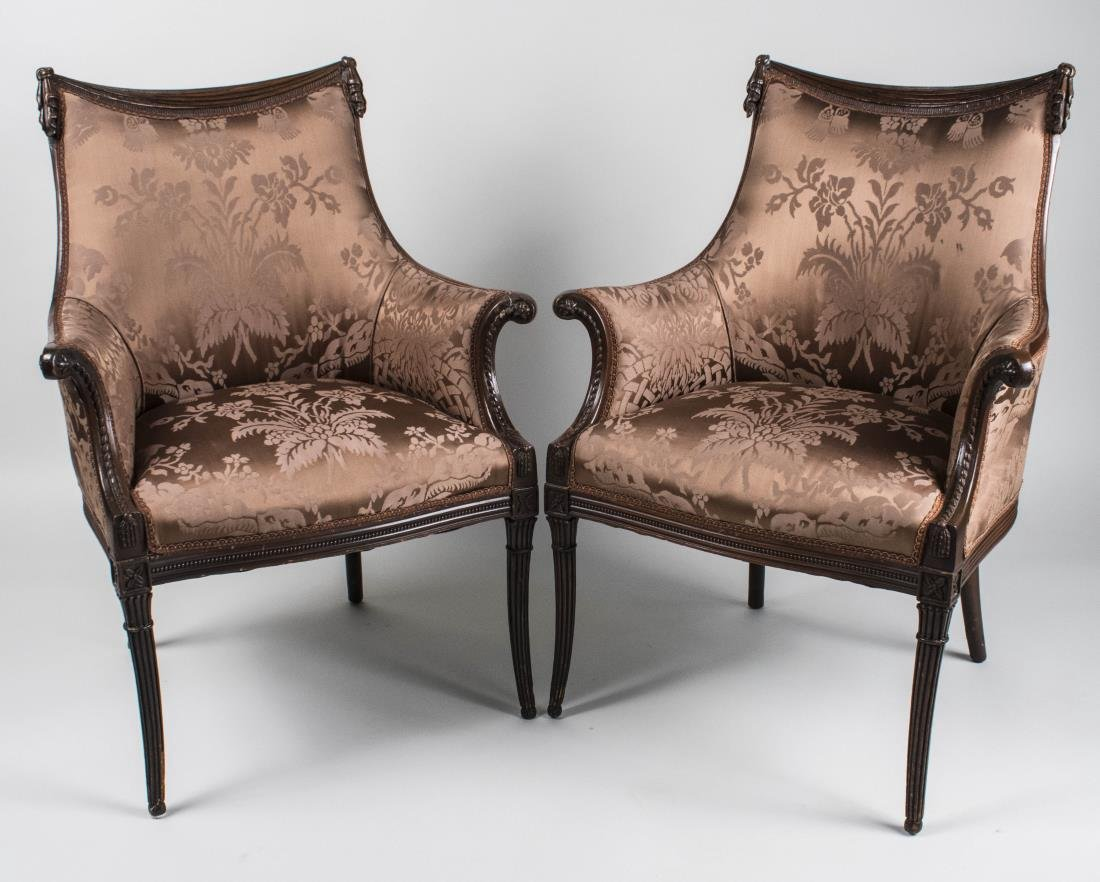Pair of Lady's Chairs