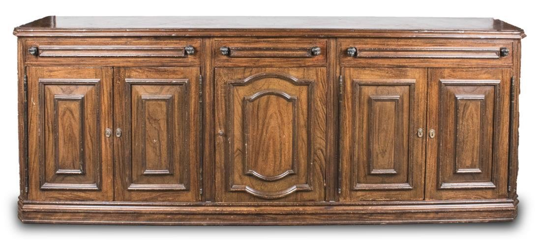 Fruitwood Side Cabinet
