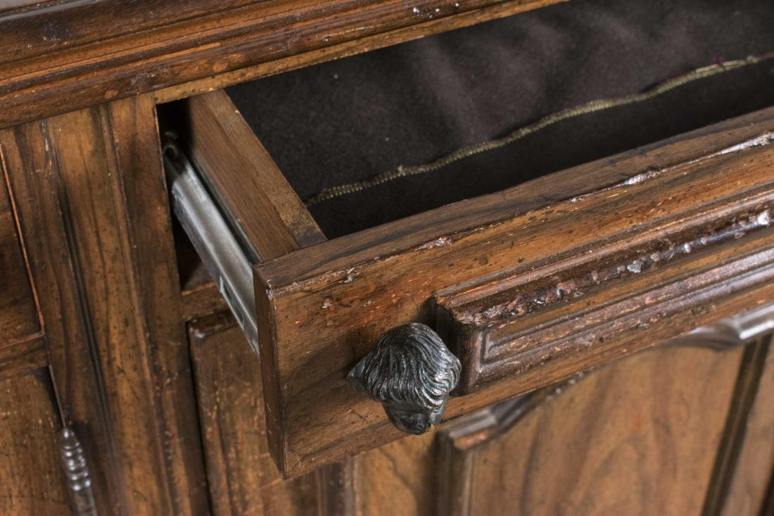 Fruitwood Side Cabinet - 2