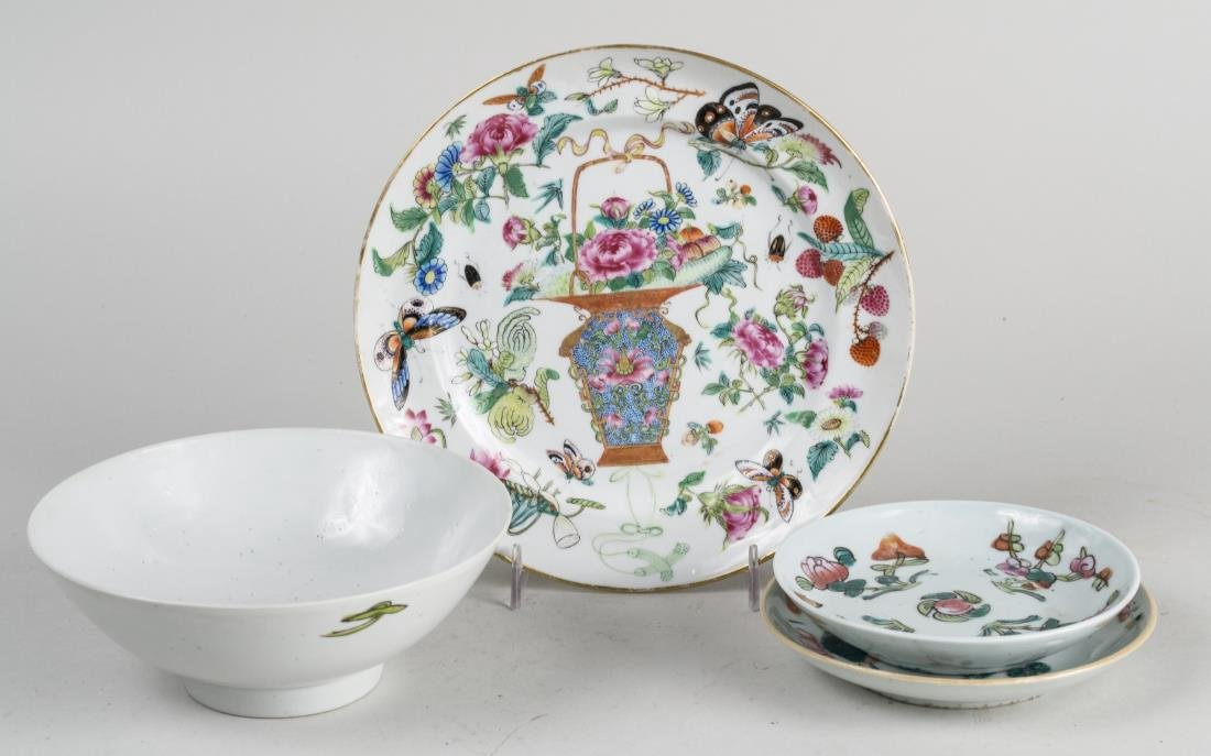 Group of  Chinese Porcelain Plates and Dishes - 3