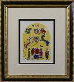 Marc Chagall Tribe of Levi Lithograph