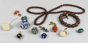 Group Of Chinese Beads