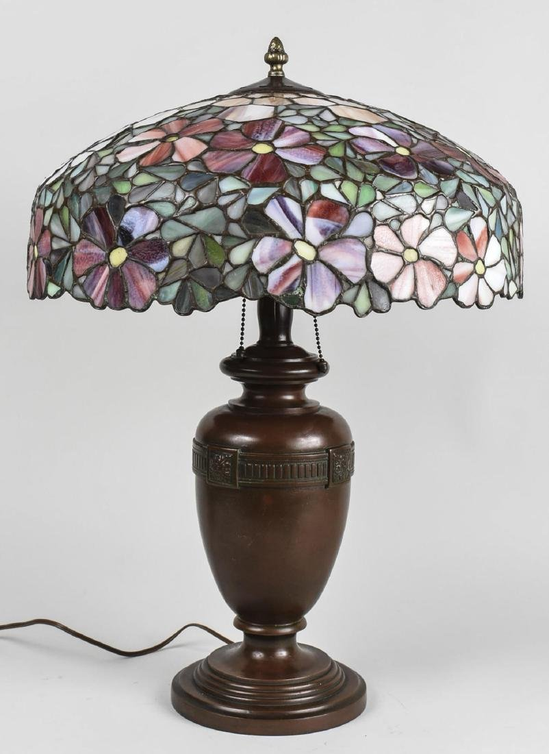 Handel Leaded Glass Lamp