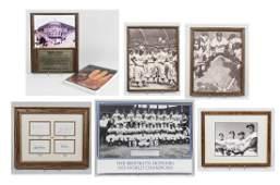 Group of Brooklyn Dodgers Memorabilia