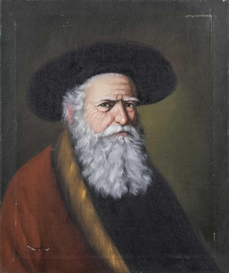 Portrait of an Old Bearded Man