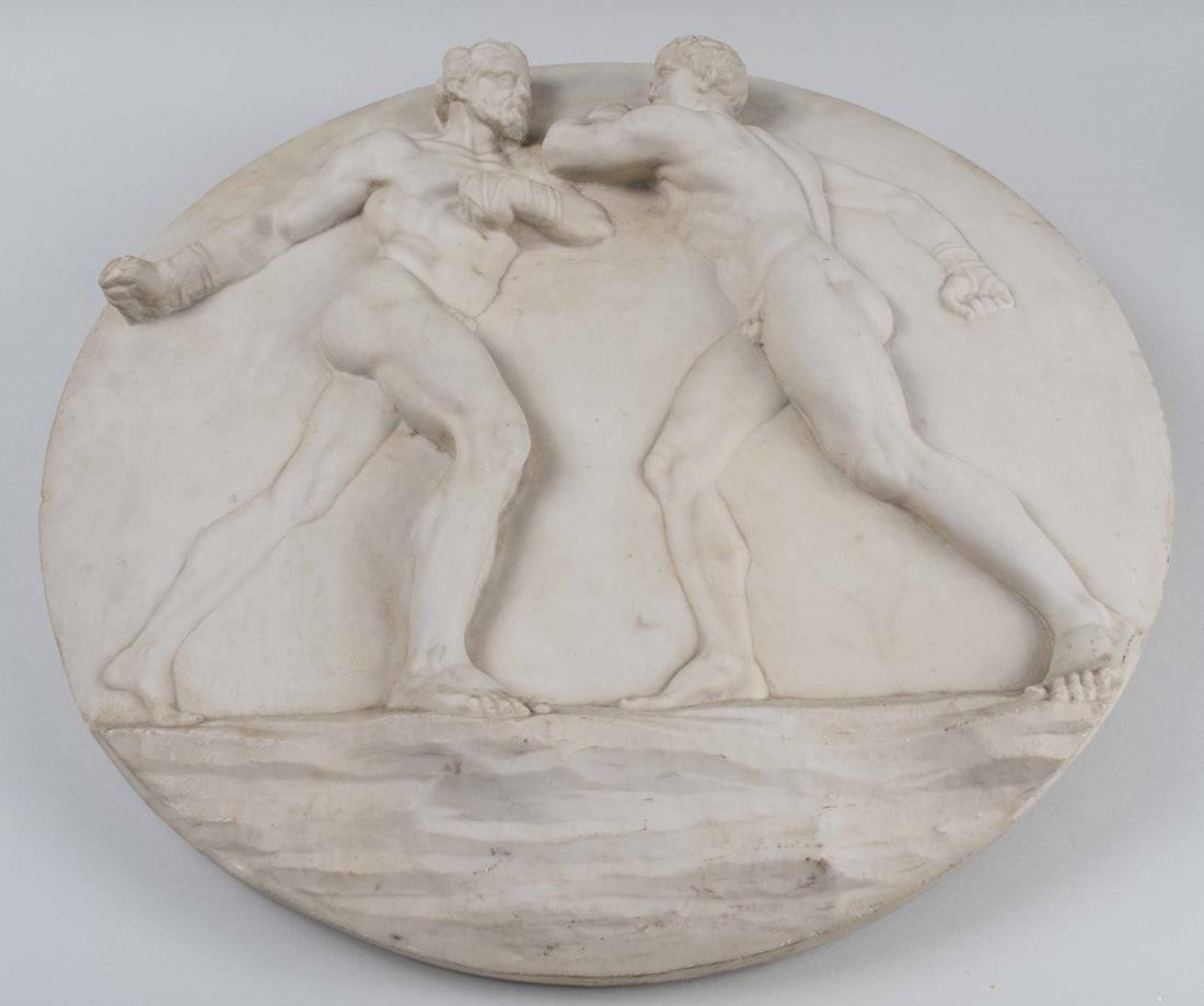Resin Neoclassical Plaque