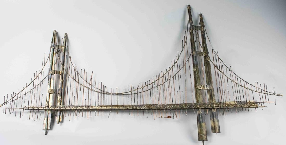 Welded Bridge Wall Hanging