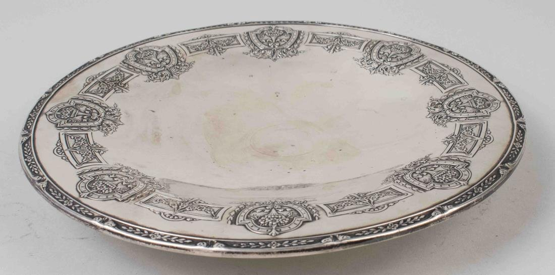 Graff and Washburn Sterling Silver Cake Plate