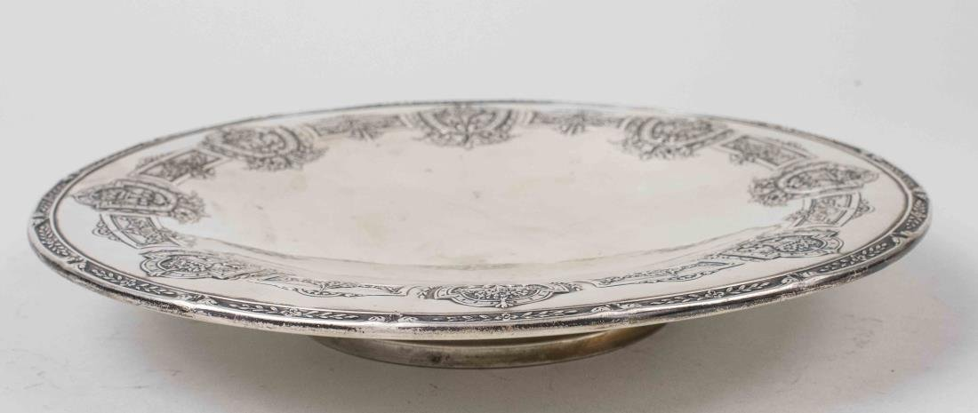Graff and Washburn Sterling Silver Cake Plate - 2