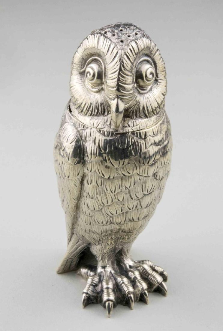 Tiffany & Co. Sterling Silver Owl Shaker
