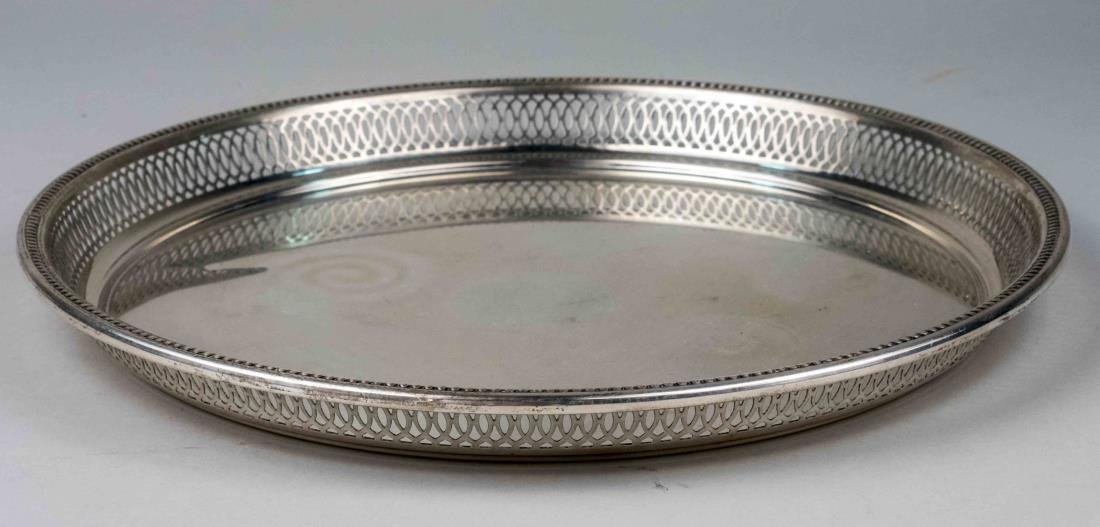 Wallace Sterling Silver Drinks Tray