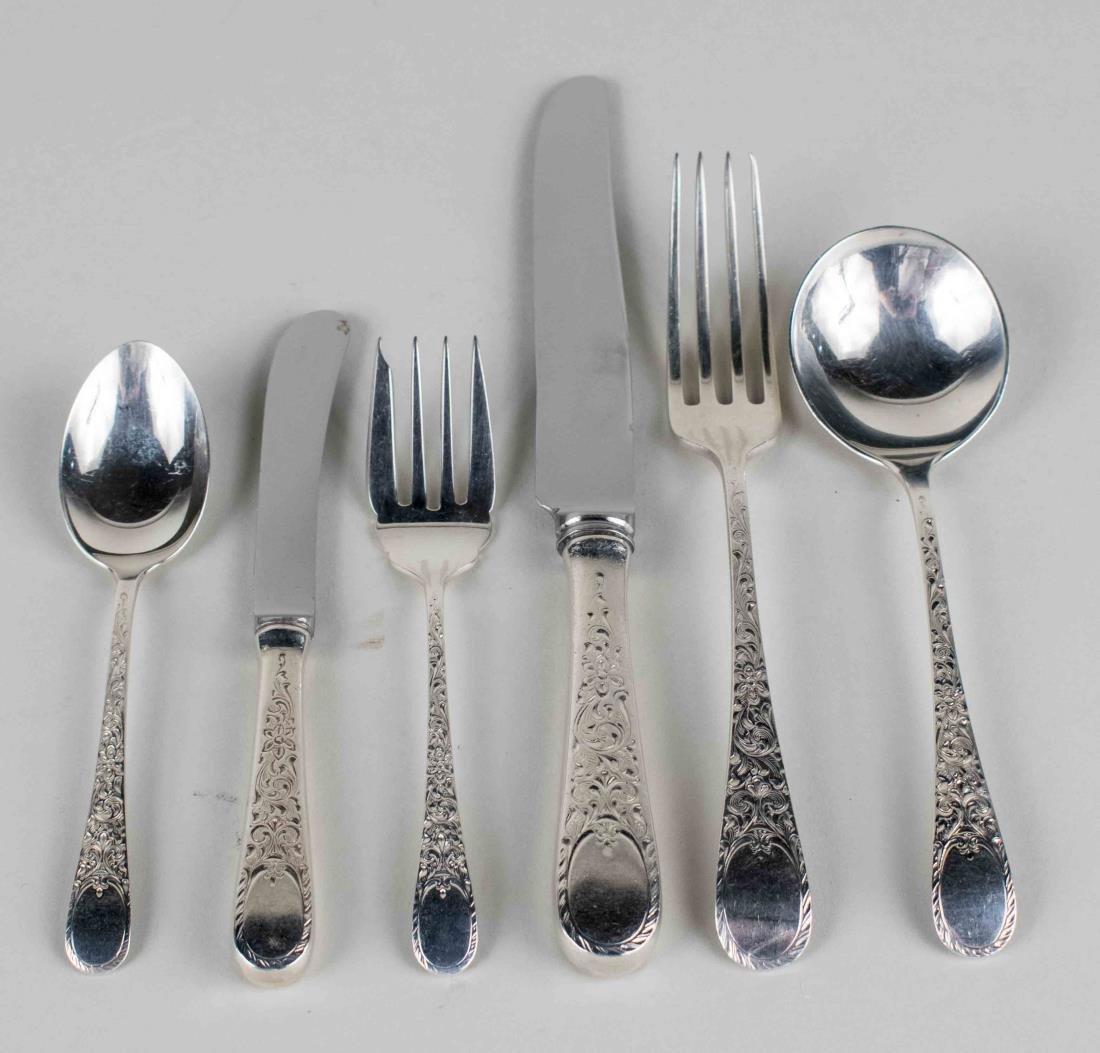Birks Sterling Silver Flatware Service