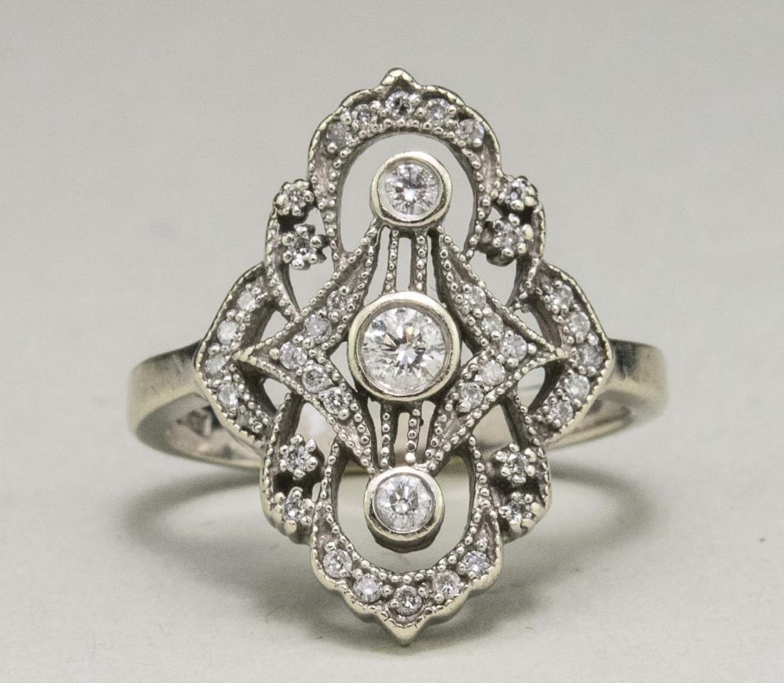 Edwardian Diamond Ring   *