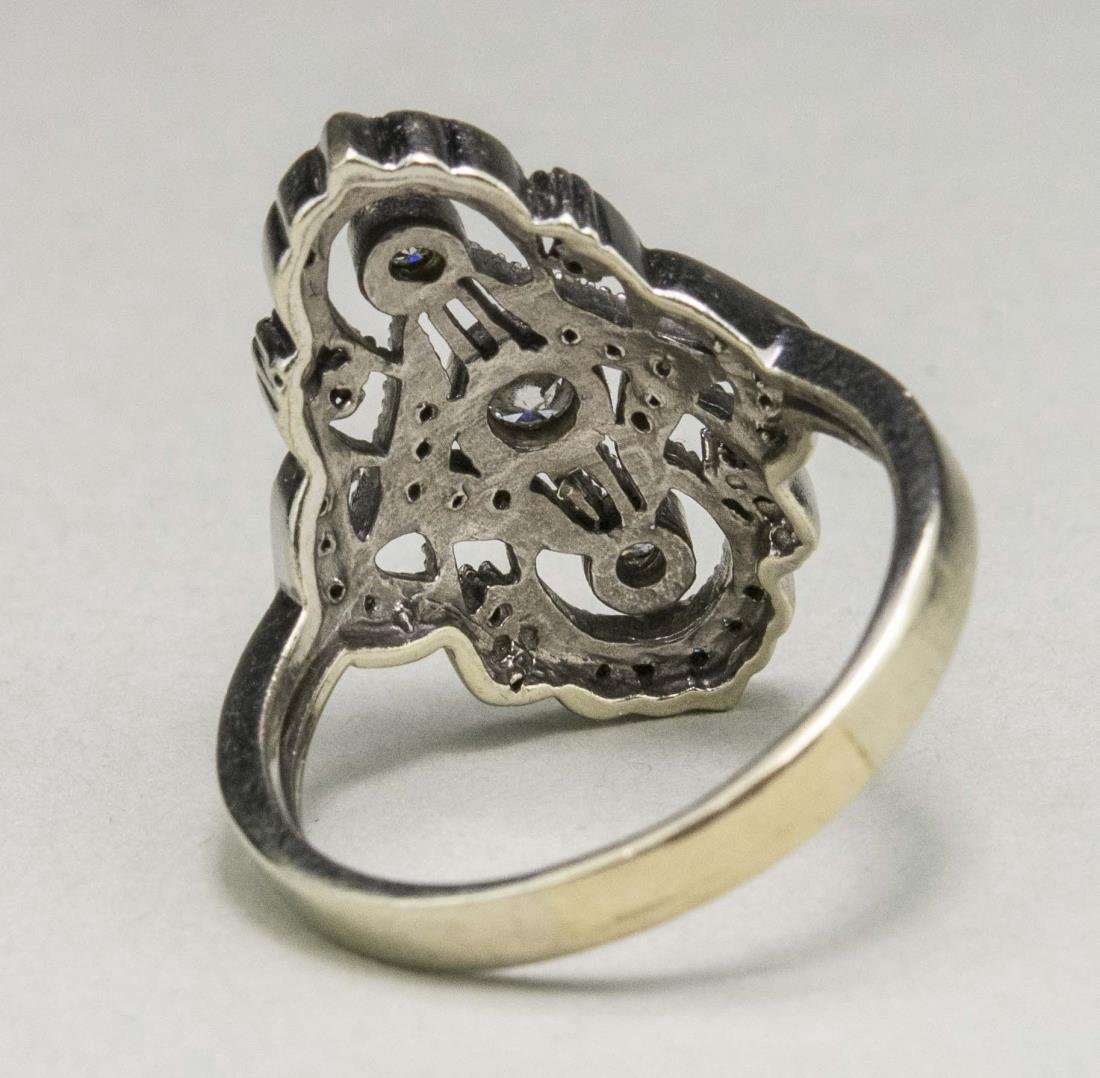 Edwardian Diamond Ring   * - 2