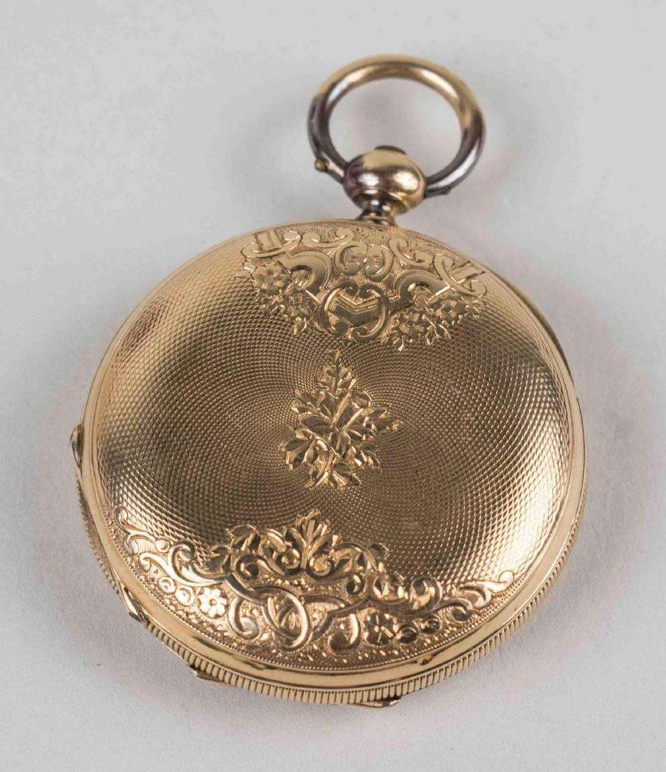 Gold Pocket Watch   * - 2