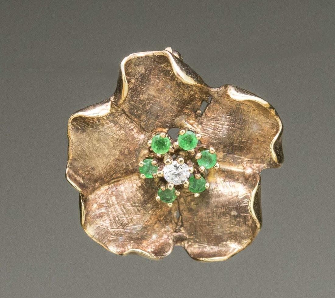 Flower Pin / Pendant   *