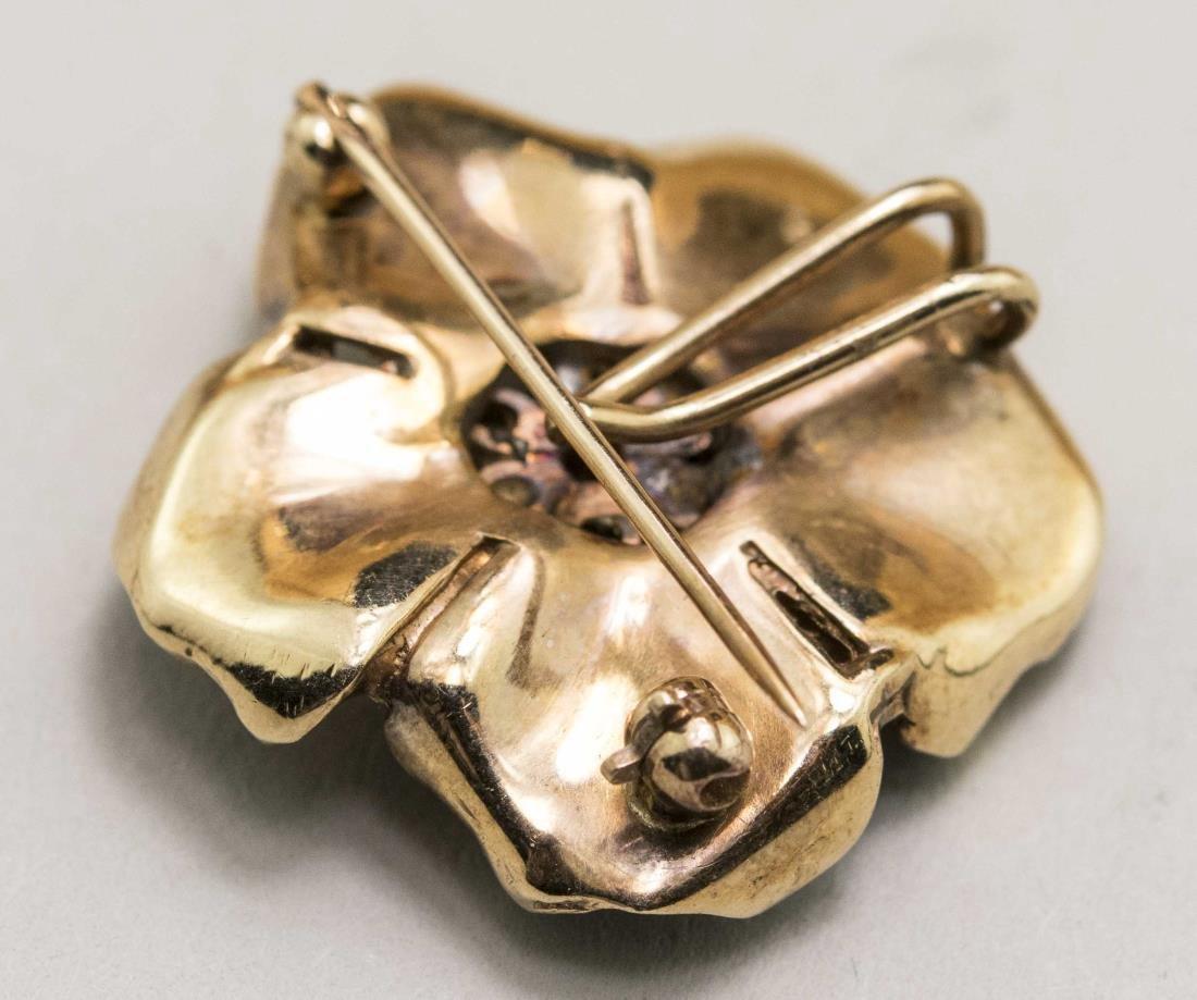 Flower Pin / Pendant   * - 2