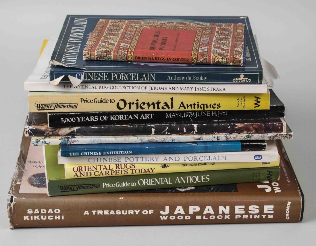 Miscellaneous Group of Oriental Art & Design Books