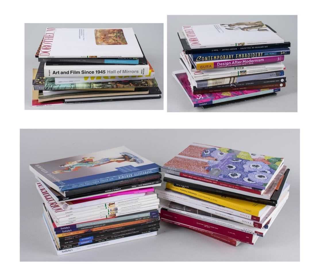 Group of Auction Catalogs