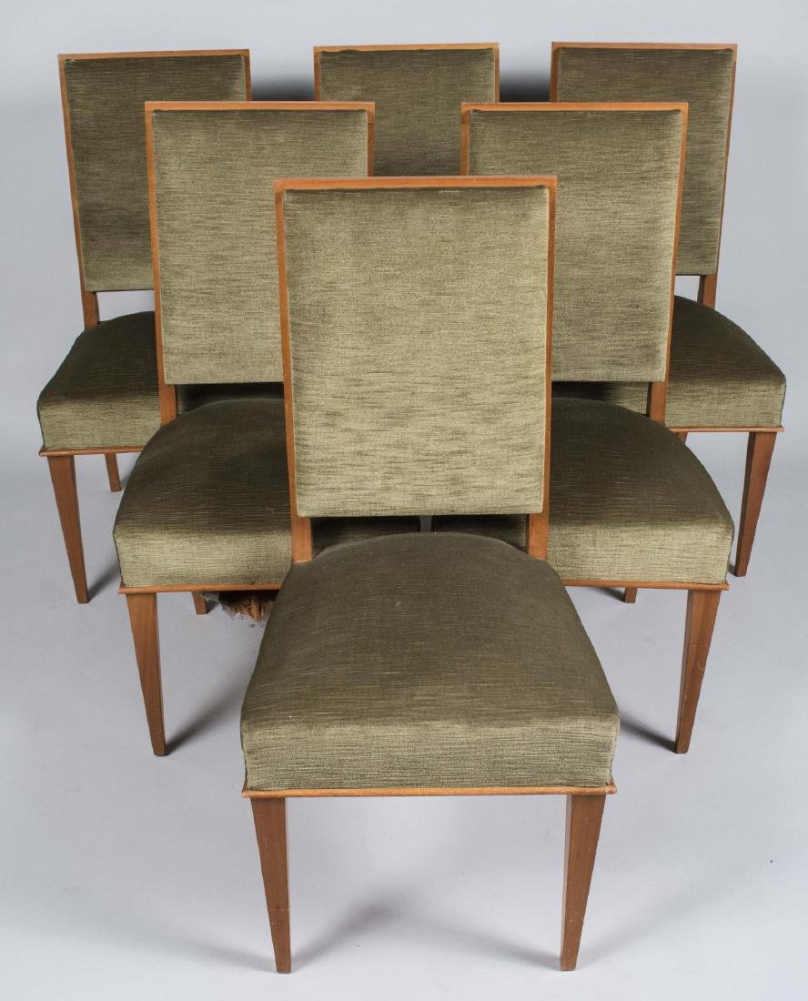 Set of Six French Dining Chairs