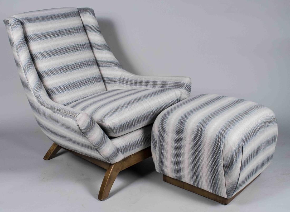 Lounge Chair and Ottoman