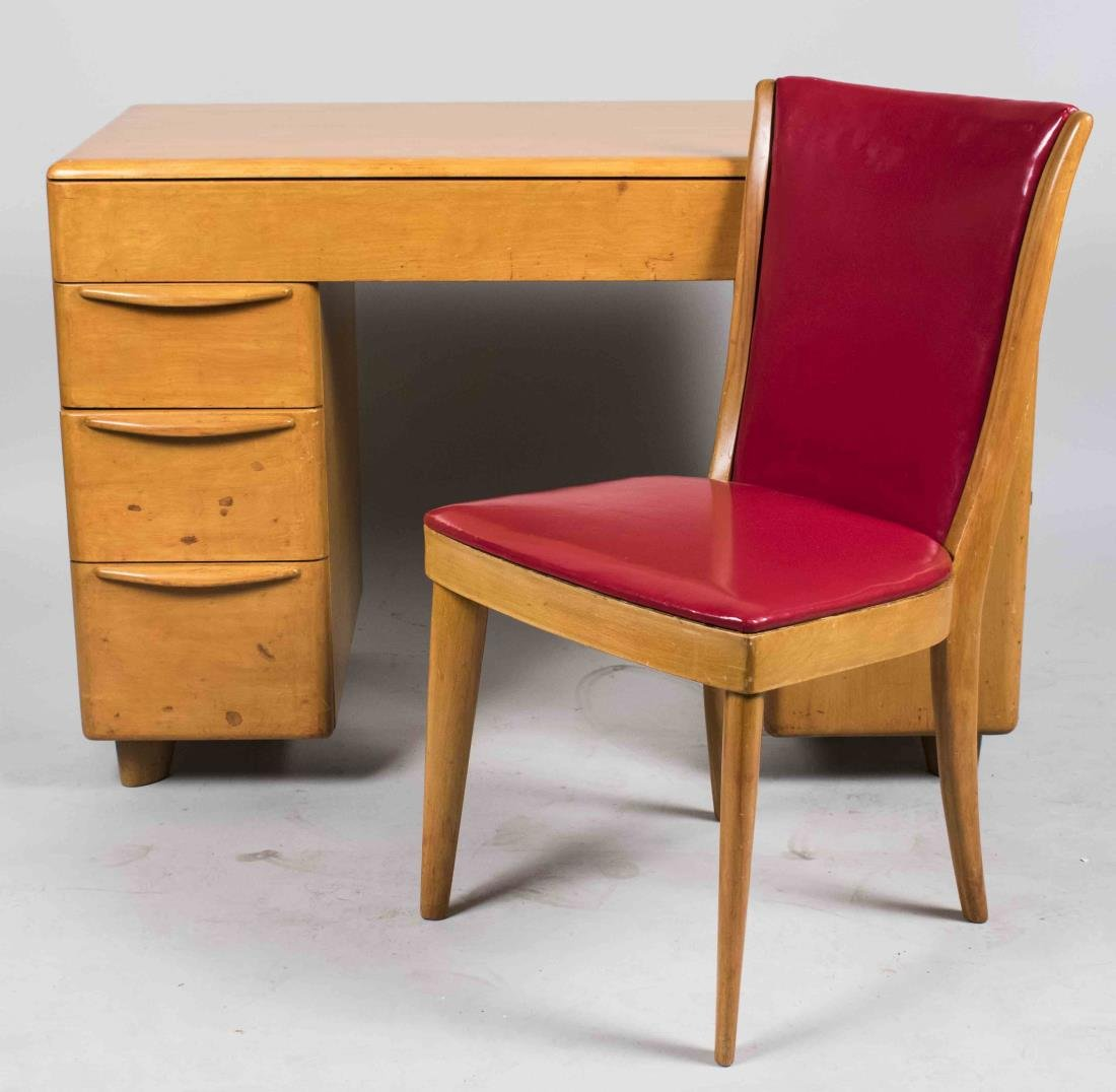 Heywood Wakefield Desk and Chair