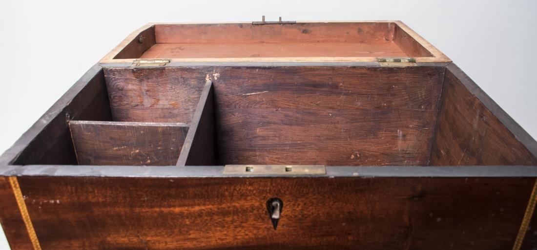 Victorian Mahogany Box on Stand - 2