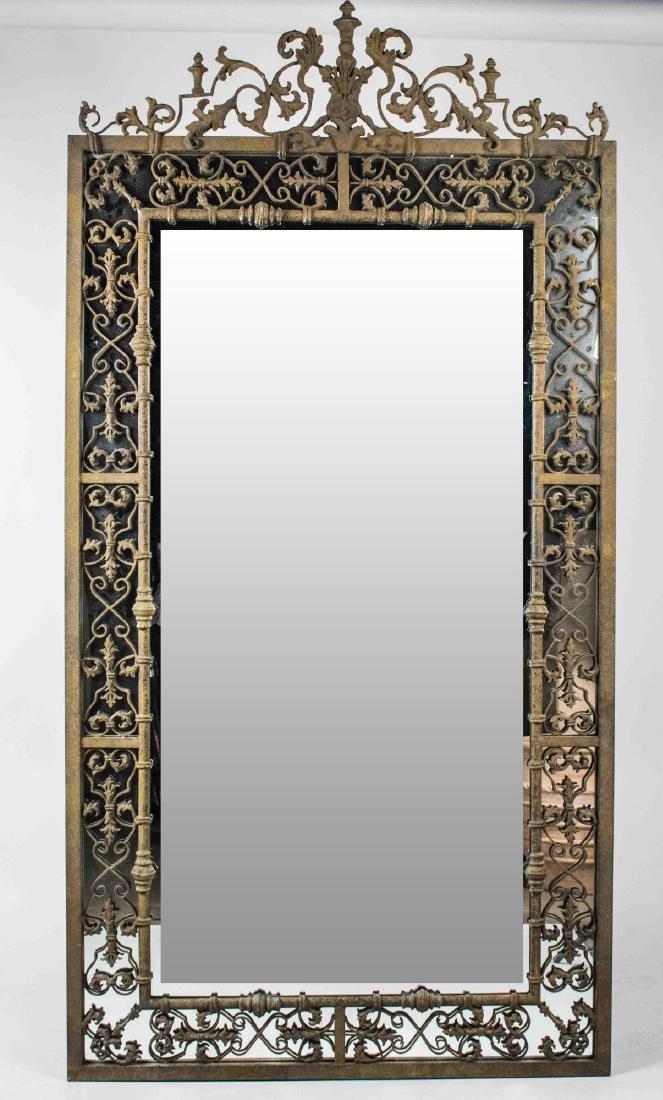 Cast Iron Mirror