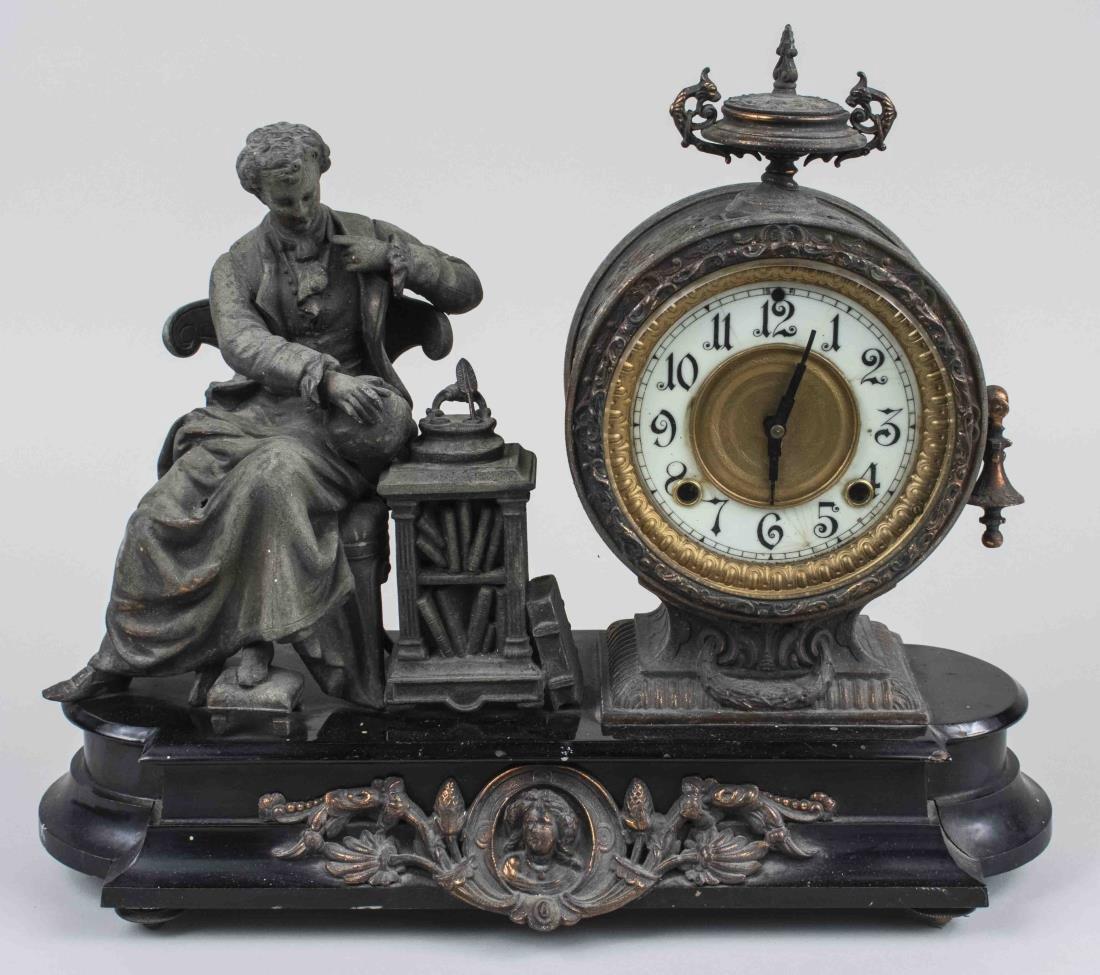 Vintage Clock Case