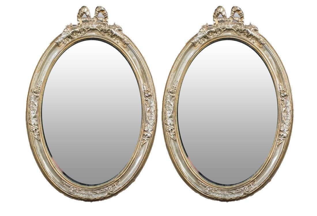 Pair of Vintage Mirrors