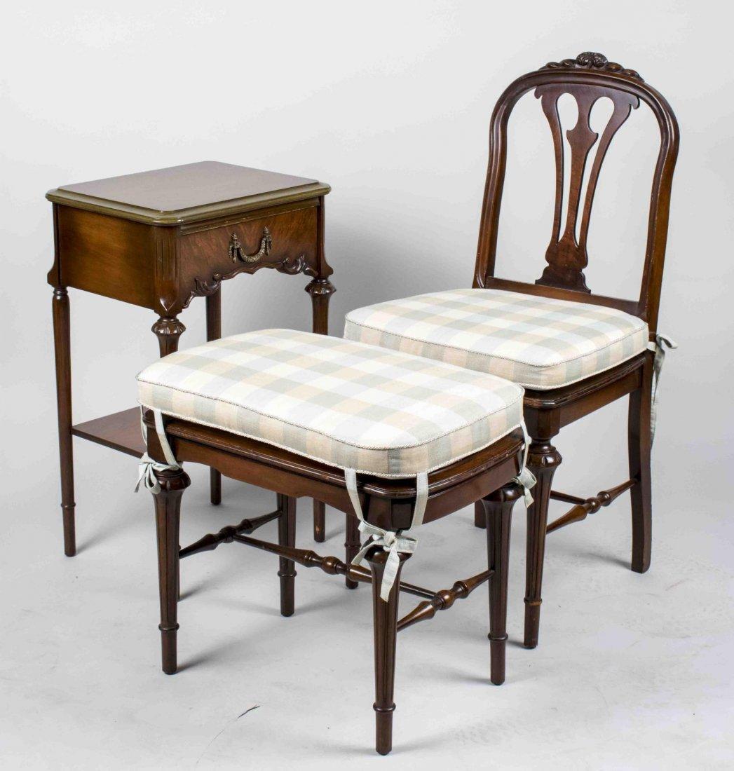 Mahogany Bedroom Set - 2