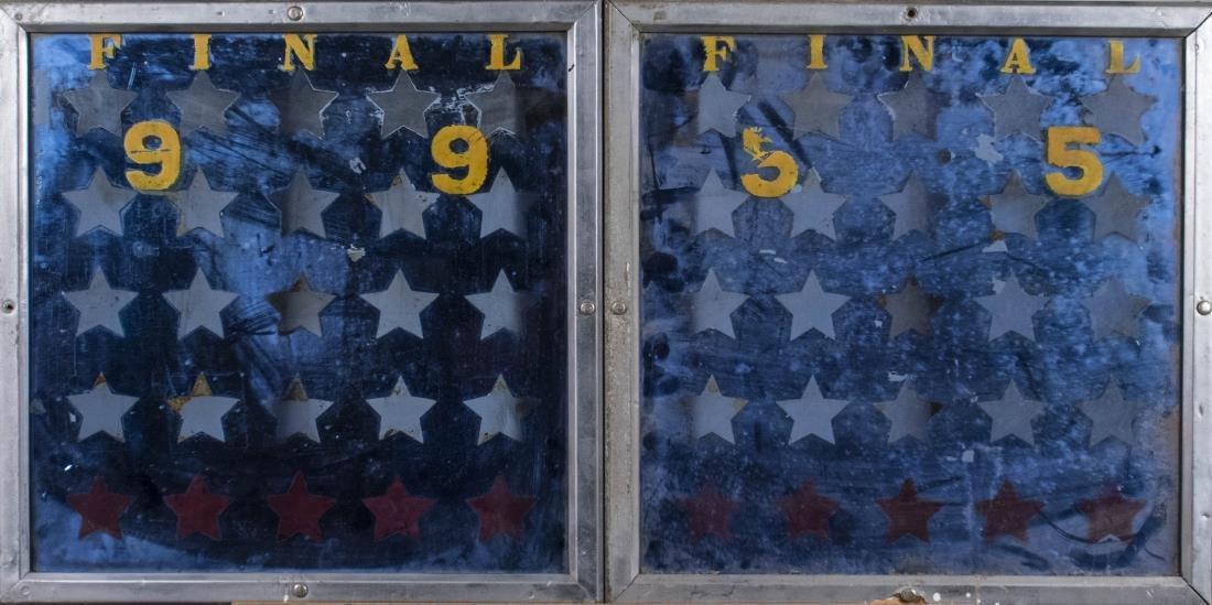Pair of Mirrored Panels