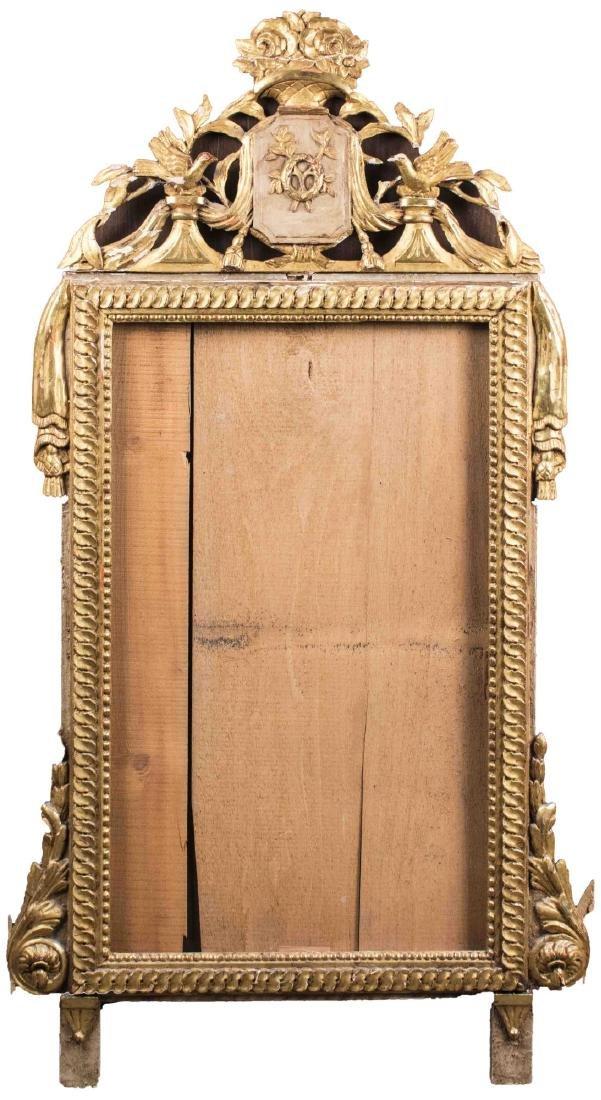 Carved Gilt Wood Mirror Frame
