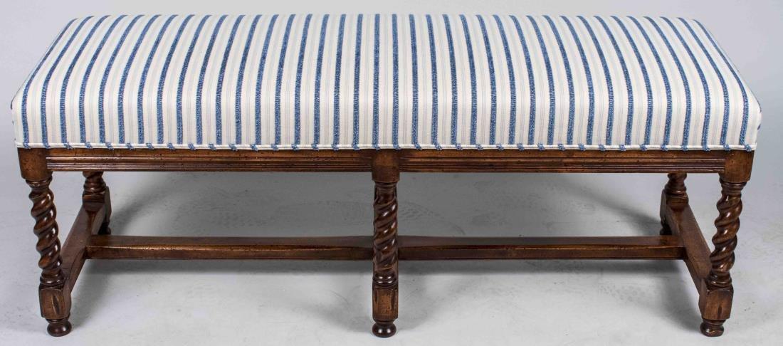 Georgian Style Mahogany Bench