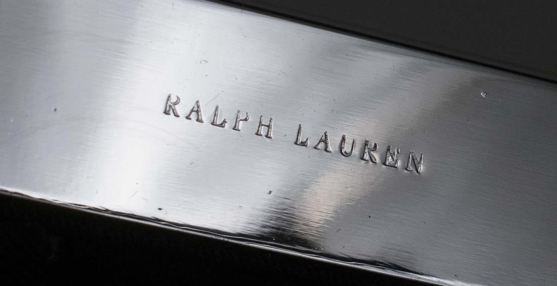 Two Ralph Lauren Silver Tone Picture Frames - 2