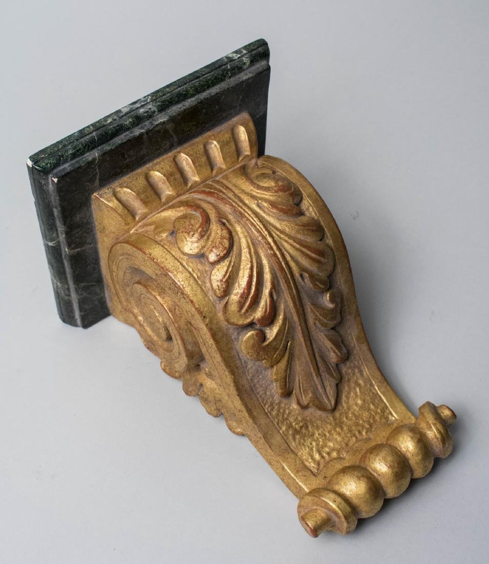 Neoclassical Style Painted Wall Bracket