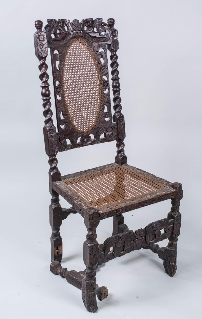 Renaissance Revival Style Side Chair