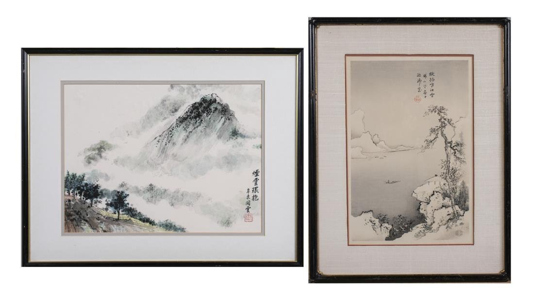 Two Chinese Landscapes
