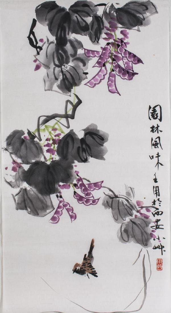 Group of Four Asian Ink Drawings - 5