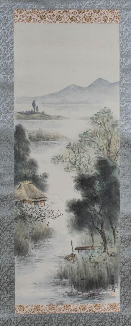 Chinese Scroll Landscape Painting
