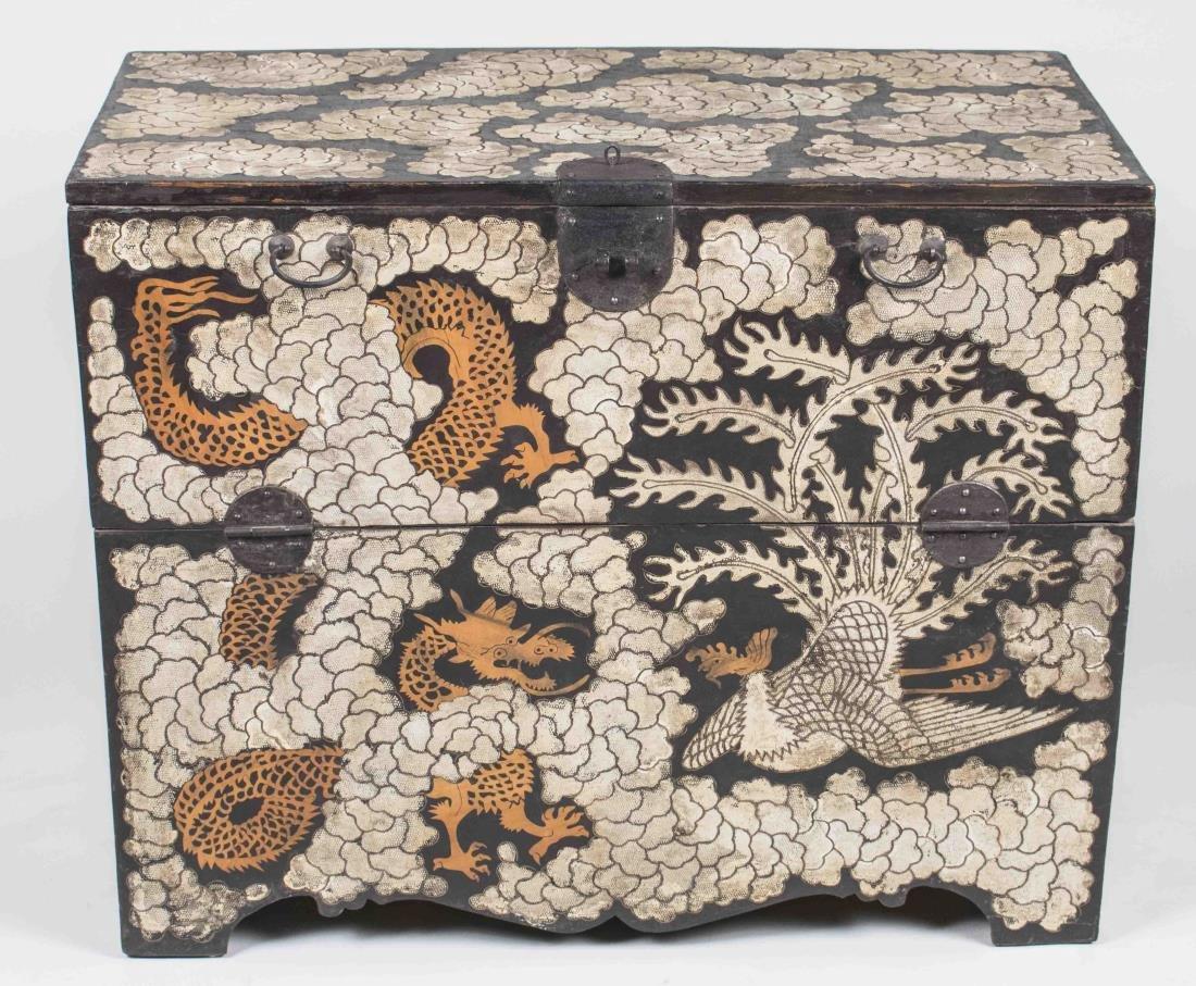 Asian Coromandel Chest of Drawers