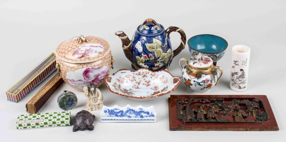 Miscellaneous Group of Asian Decorations